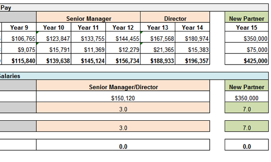 Pwc S New Compensation Structure Gets The Spreadsheet It